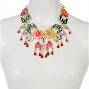 Eye Candy Kaleidoscope Floral Statement Necklace